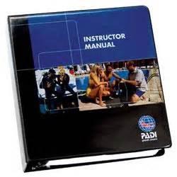 Instructor Padi Instructor Manual 2018