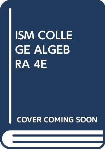Instructor Solution Manual College Algebra 4th Edition