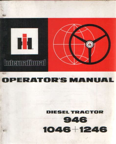 International 1246 Manual