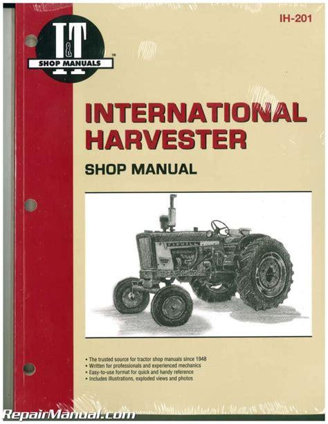 International 2504 Shop Manual