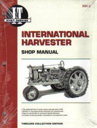 International 454 Tractor Shop Manual