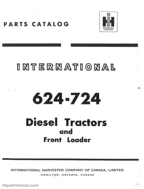 International 624 Workshop Manual