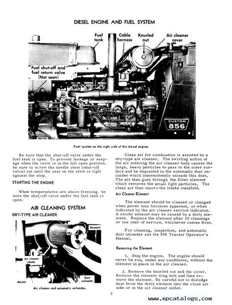 International 856 Repair Manual