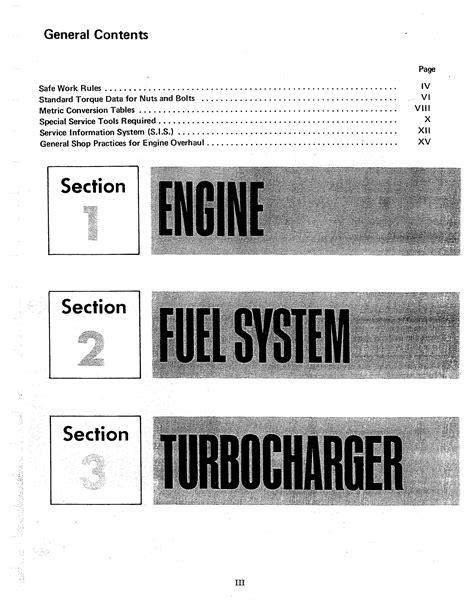 International D155 Engine Manual