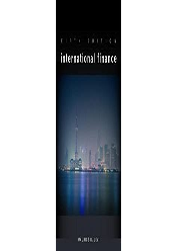 International Finance Manual Levi