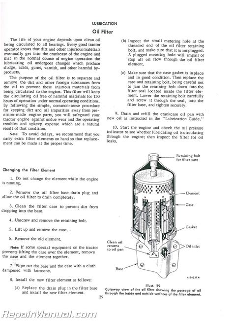 International Harvester 350 Utility Tractor Repair Manual