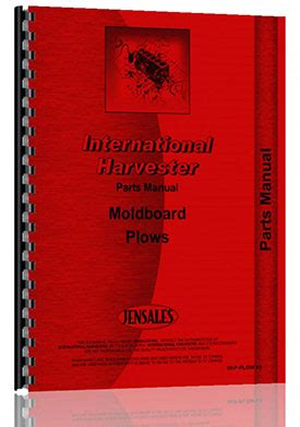 International Harvester 440 Plow Manual