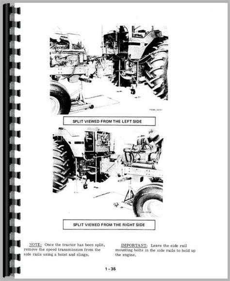 International Harvester 986 Tractor Service Repair Manual