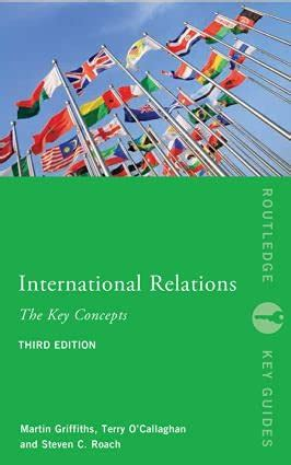 International Relations The Key Concepts Routledge Key Guides