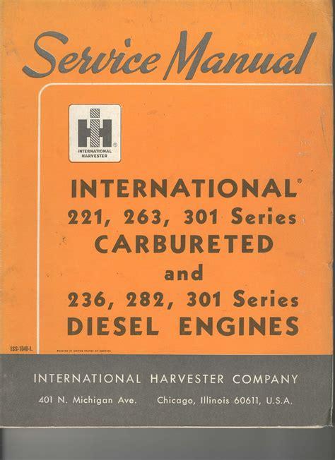 International Tractor Engine Manual
