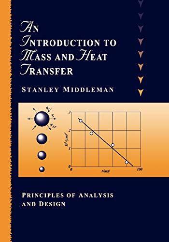 Intro Mass Heat Transfer Principles Of Analysis And Design
