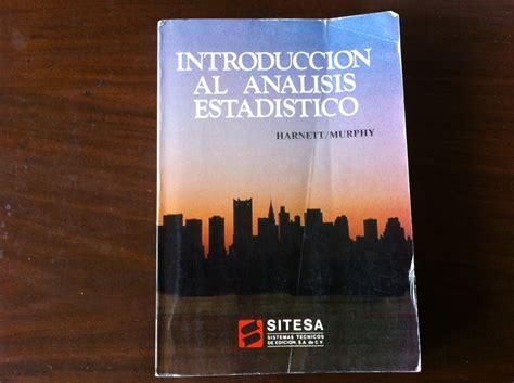 Introduccion Al Analisis Estadis.