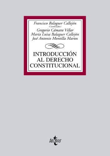 Introduccion Al Derecho Constitucional Derecho Biblioteca Universitaria De Editorial Tecnos