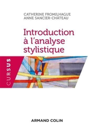 Introduction A L Analyse Stylistique 2e Ed Np