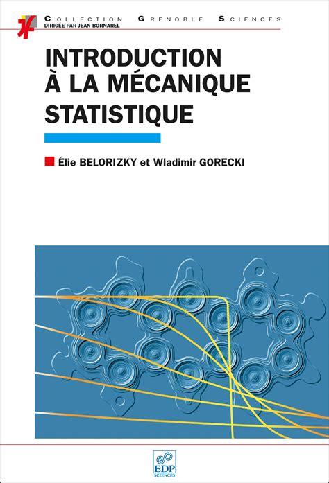 Introduction A La Mecanique Statistique