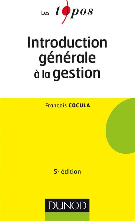 Introduction Generale A La Gestion
