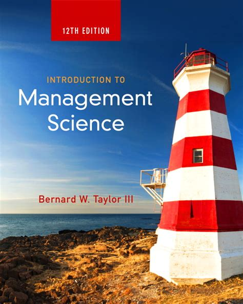 Introduction To Management Science 12e Solution Manual