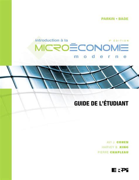 Introduction a la Microeconomie Moderne : Guide de