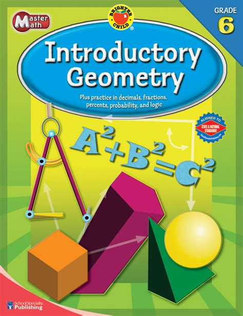 Introductory Geometry Grade 6 (Brighter Child Workbooks)