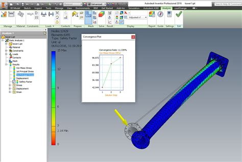 Inventor Stress Analysis Results