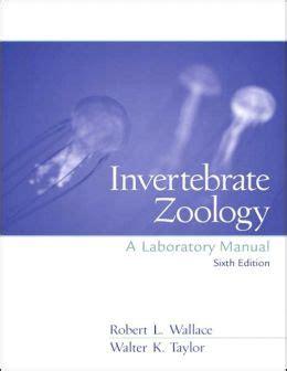Invertebrate Zoology Lab Manual Wallace