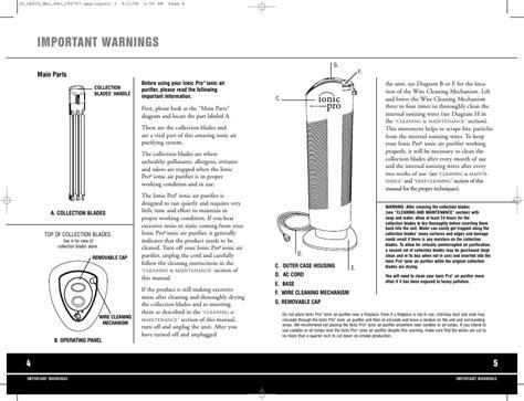 Ionic Pro Manual Ca 500