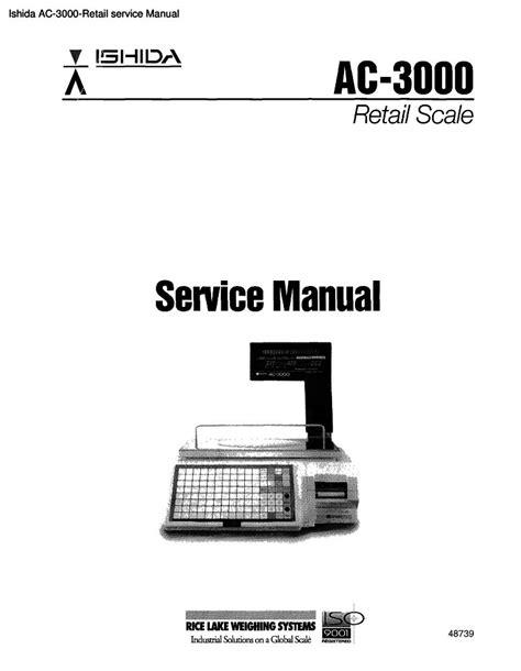 Ishida Ac3000e Manual