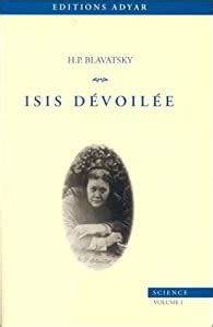 Isis Devoilee Tome 1 Science