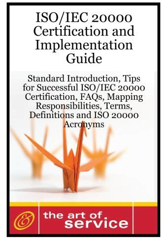 Iso Iec 20180 Certification And Implementation Guide
