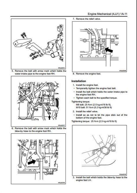 Isuzu 4jj1 Engine Manual