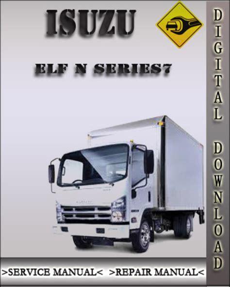 Isuzu Elf N Series Service Repair Workshop Manual 1999 2002