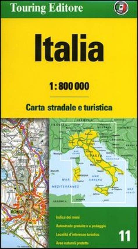 Italia 1 800 000 Carta Stradale E Turistica
