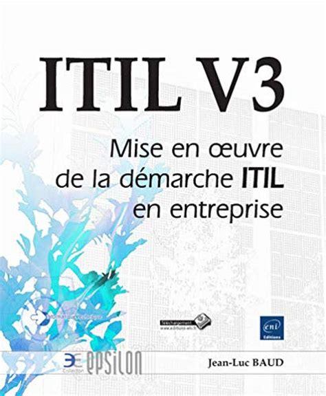 Itil V3 Mise En Oeuvre De La Demarc