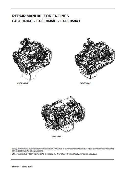 Iveco Industrial Diesel Engine Manual