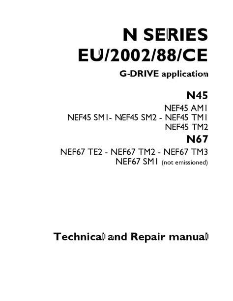 Iveco N45 N67 N Series Complete Workshop Service Repair Manual