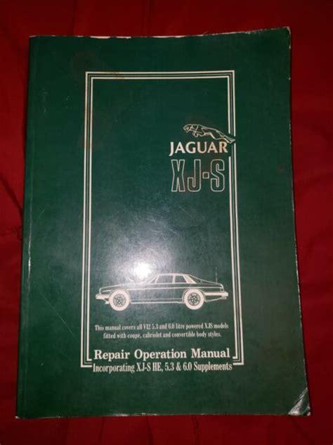 Jaguar V12 Engine Repair Manual