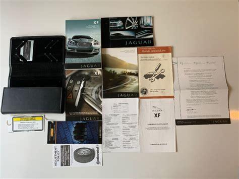 Jaguar Xf Owners Manual Uk