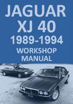 Jaguar Xj40 Workshop Manual