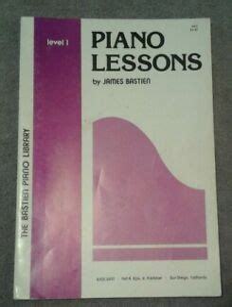 James Bastien Piano Lessons Level 1