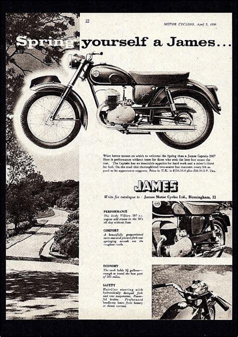James Motorcycle Manual