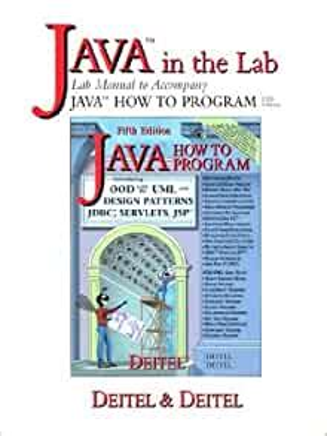 Java Software Programming Lab Manual