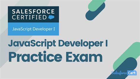 JavaScript-Developer-I Certification Exam