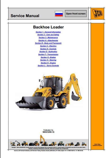 Jcb 3cx 2018 Workshop Manual