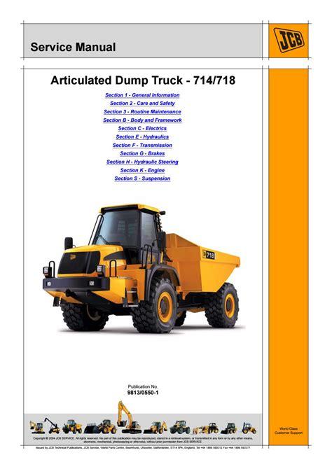 Jcb 714 718 Fastrac Service Repair Manual