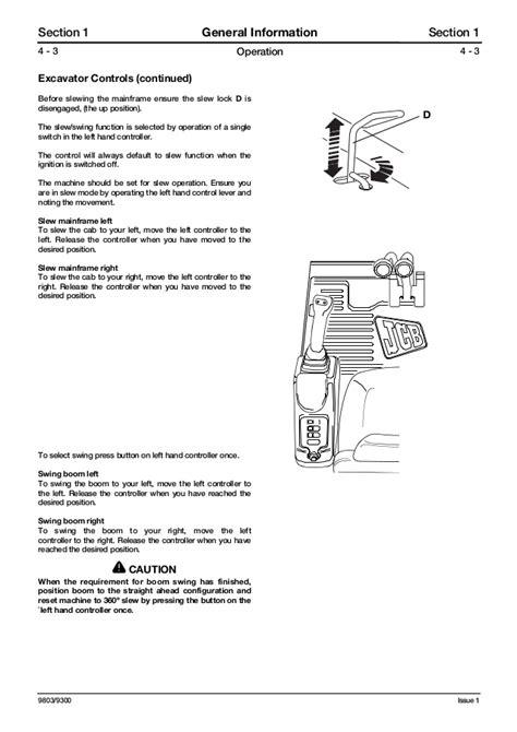 Jcb 8032 Manual