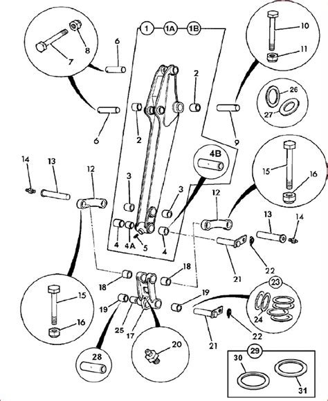 Jcb 804 Mini Crawler Excavator Parts Catalogue Manual Sn 00734001 00734401