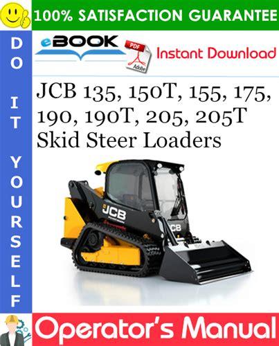 Jcb Skid Steer Loader Operators Manual 190