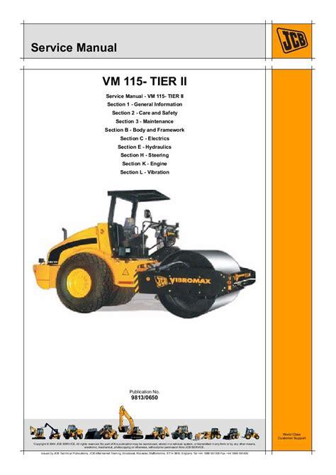 Jcb Vm 115 Parts Manual