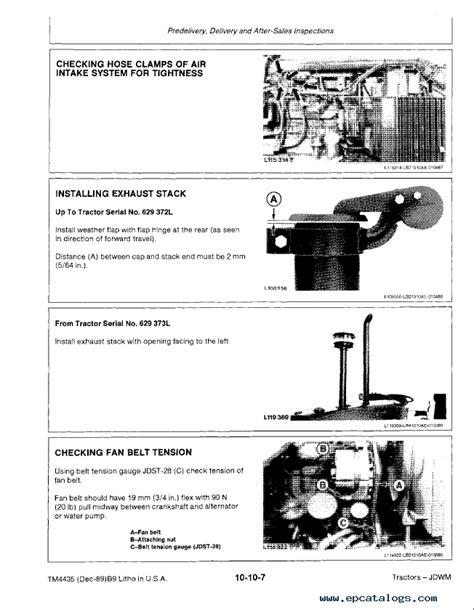 Jd 2355 Service Manual