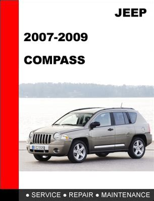 Jeep Compass 2007 2009 Factory Service Repair Manual
